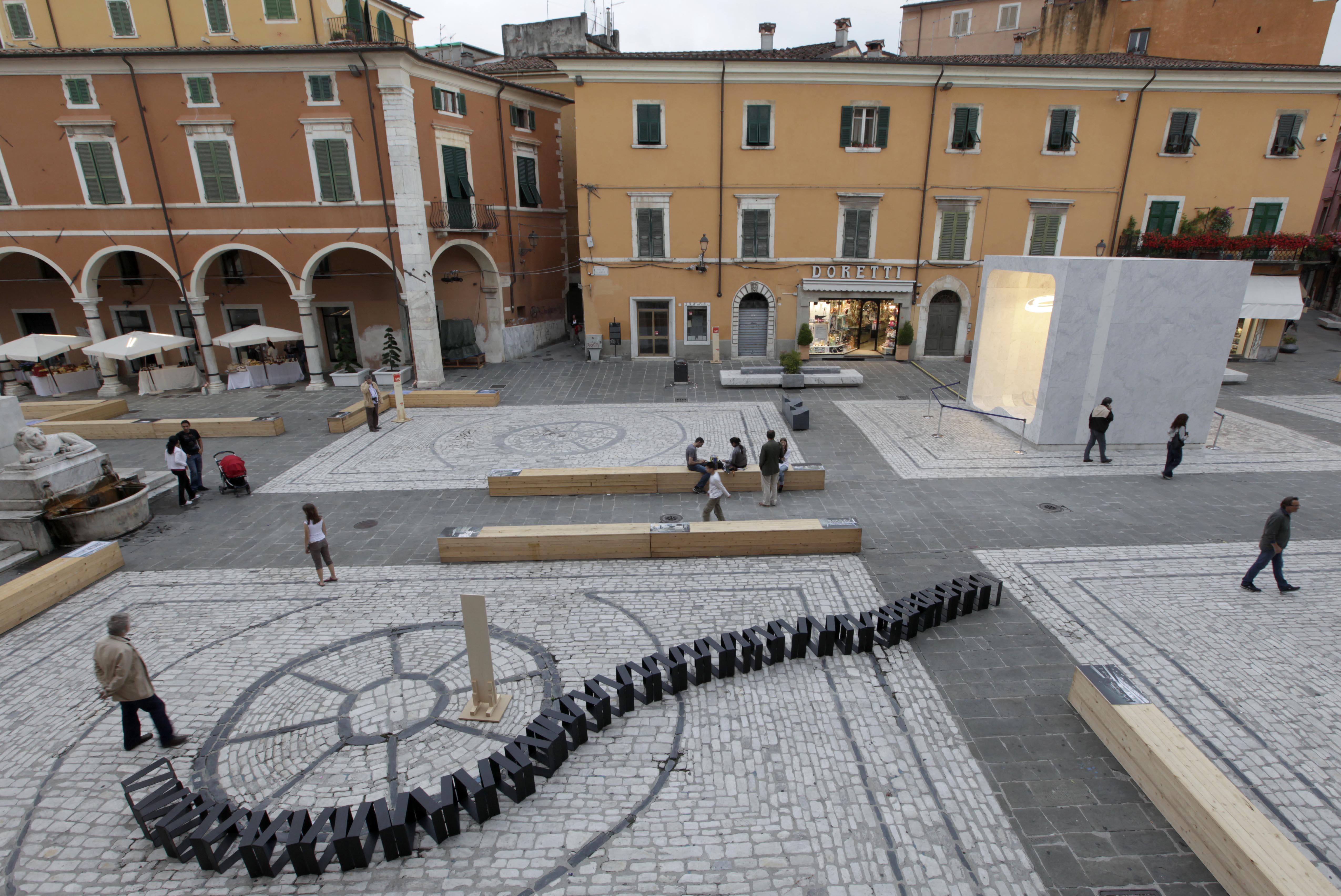 Carrara marble weeks 2012 la capitale mondiale del marmo for Nerbi arredamento