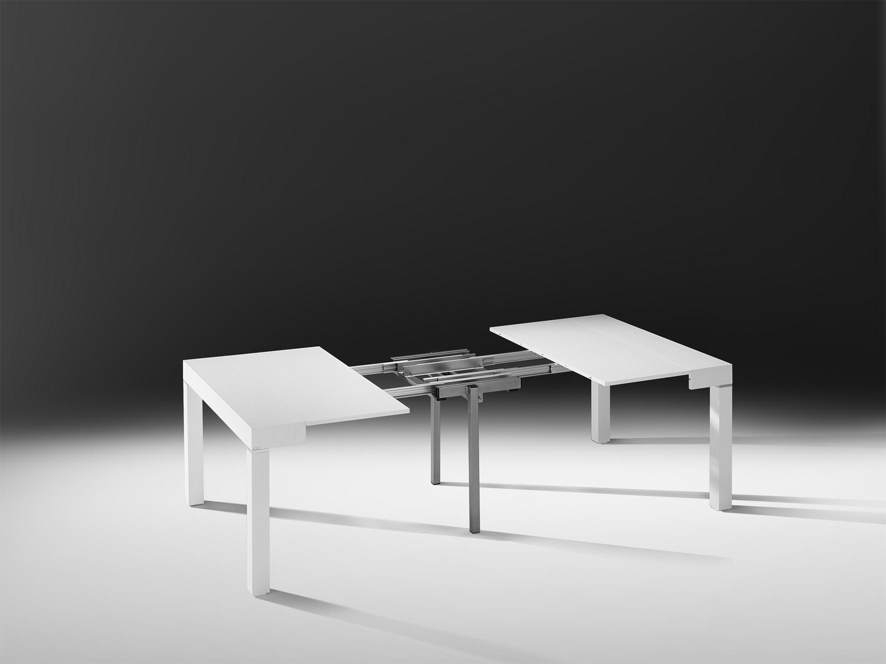 Una consolle di 50 cm diventa un tavolo da 3m e p300 l - Consolle che diventa tavolo ...